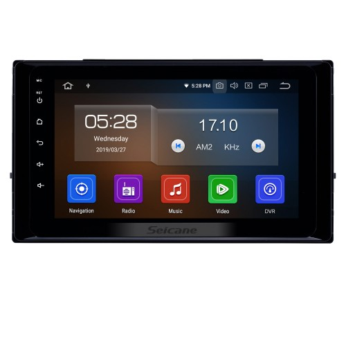 8 inch Android 10.0 GPS Navigation Radio for 2017-2019 Toyota Corolla Bluetooth Wifi HD Touchscreen Music Carplay USB support DVR Digital TV 1080P Video