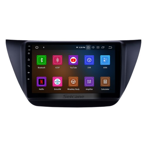 HD Touchscreen 9 inch Android 10.0 GPS Navigation Radio for 2006-2010 MITSUBISHI LANCER IX with WIFI Carplay Bluetooth USB support RDS OBD2 DVR 4G