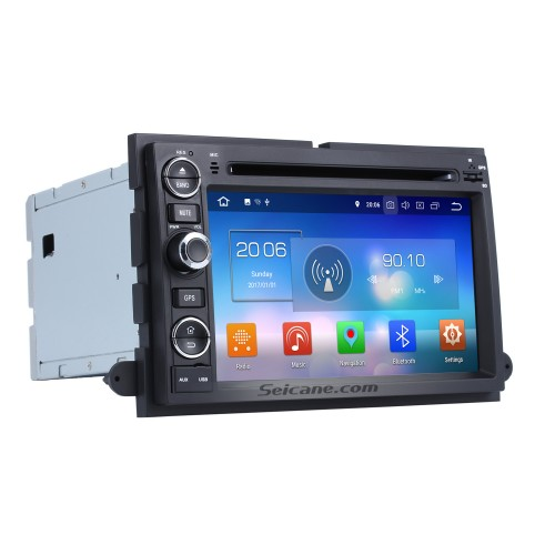 Android 8.0 2006-2009 Fusion/Explorer/F150/ Edge/Expedition GPS Navigation Radio with Bluetooth Music 3G WiFi Mirror Link OBD2 Rearview Camera
