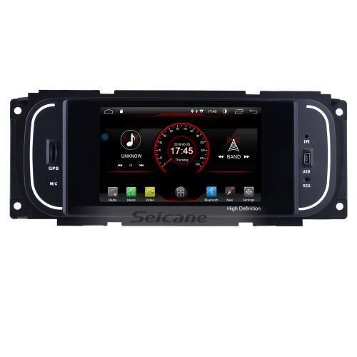 Android 8.1 1999-2004 Jeep Grand Cherokee  Radio GPS Bluetooth Touch Screen Navigation System with Mirror link 4G WIFI USB Steering Wheel control