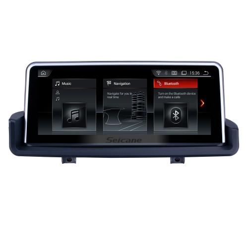 10.25 Inch Android 9.0 2006-2012 BMW E90 E91 E92 E93 Car Stereo Radio Head Unit GPS Navigation System Bluetooth Support USB WIFI Rearview Camera Steering Wheel Control