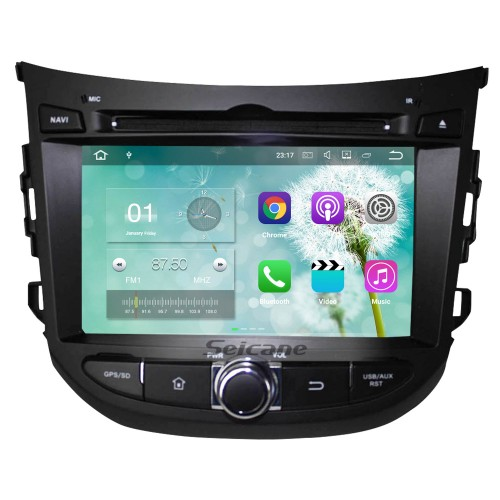 Android 7.1 2012 2013 Hyundai HB20 Radio DVD Player GPS navigation system  HD 1024*600 touch screen OBD2 DVR Rearview camera TV 1080P Video 3G WIFI Steering Wheel Control Bluetooth USB SD Quad-core CPU Mirror link