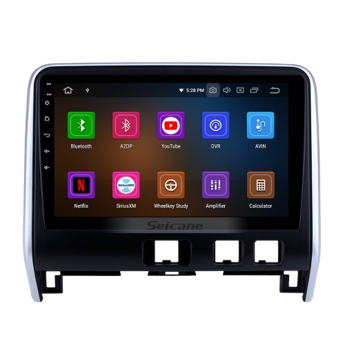 10.1 inch 2016 2017 2018 Nissan Serena Android 9.0 HD Touchscreen GPS Navigation Radio with Bluetooth USB FM support DVR 3G WIFI Digital TV DVD Player Carplay