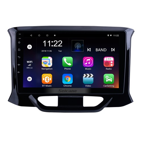 OEM 9 inch Android 10.0 for 2015 2016-2019 Lada Xray Radio with Bluetooth HD Touchscreen GPS Navigation System support Carplay DAB+