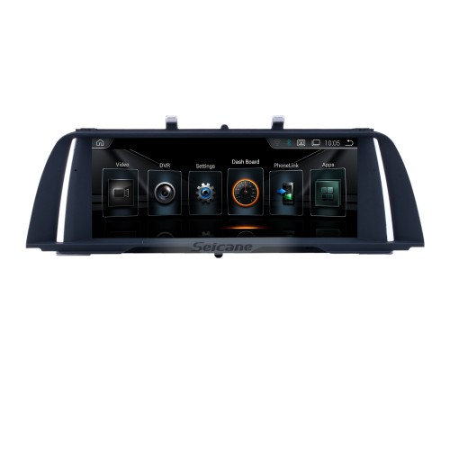 10.25 Inch HD Touchscreen Android 8.1 2011 2012 BMW 5 Series F10/F11 CIC Car Stereo Radio Head Unit GPS Navigation Bluetooth Phone MP3 Support Steering Wheel Control WIFI Backup Camera