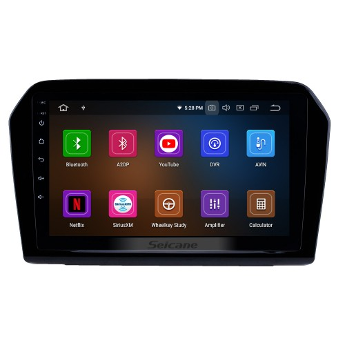 10.2 Inch Android 4.4 Bluetooth Radio For 2013 2014 2015 VW Volkswagen JETTA with 3G WiFi GPS Navigation system TPMS DVR OBD II Rear camera AUX Headrest Monitor Control USB SD Video 3G WiFi Capacitive Touch Screen