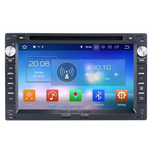 Seicane S127648 16G 1999-2005 VW Volkswagen Jetta Android 4.4.4 Autoradio MP3 In Dash GPS Stereo with Quad-core CPU