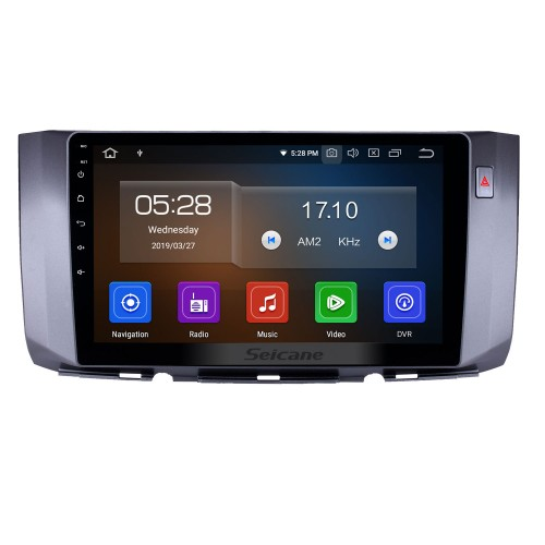 10.1 inch Android 10.0 Radio for 2010-2017 Toyota ALZA Bluetooth Wifi HD Touchscreen AUX GPS Navigation Carplay USB support DVR Digital TV TPMS