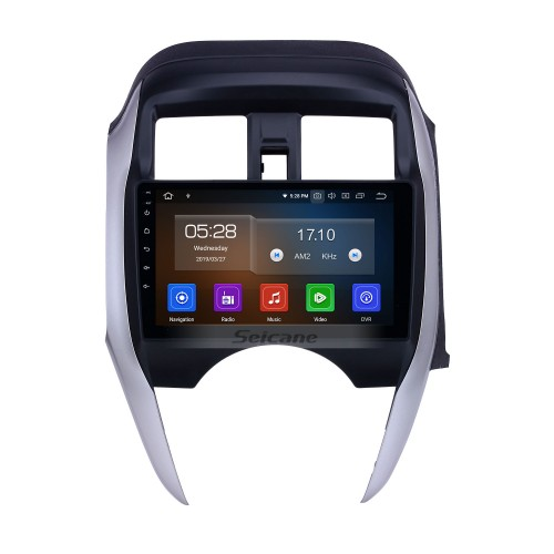 Android 10.0 9 inch GPS Navigation Radio for 2014-2018 Nissan Sunny/Almera RHD with HD Touchscreen Carplay Bluetooth support Digital TV