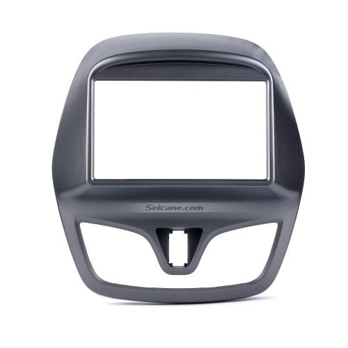 2 DIN 2015 Daewoo Martiz Chevrolet Spark Beat Car Radio Fascia Dash Stereo Install frame Trim Panel Face Plate Kit