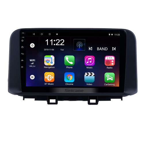 10.1 inch 2018 2019 Hyundai ENCINO Kona Android 8.1 HD Touchscreen GPS Navi Radio with WIFI AUX Bluetooth support RDS Carplay 3G Steering Wheel Control
