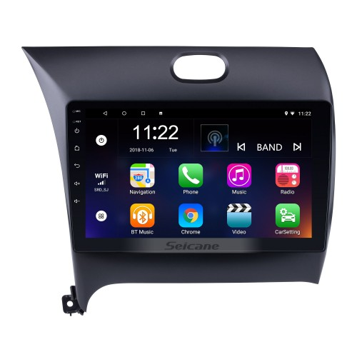 10.2 Inch All-in-One Android 4.4 GPS Navigation system For 2013 2014 2015 KIA K3 with Touch Screen TPMS DVR OBD II Rear camera AUX USB SD Steering Wheel Control 3G WiFi Video Radio Bluetooth