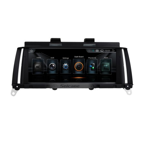 HD Touchscreen 8.8 inch for BMW X3 F25/X4(2010-2013) CIC Radio Android 10.0 GPS Navigation System with Bluetooth support Carplay TPMS
