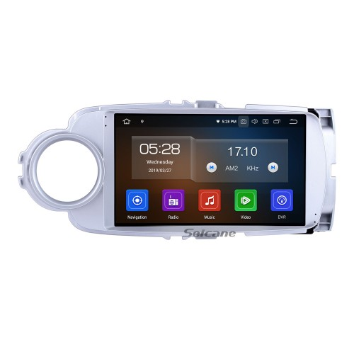For 2012 Toyota Yaris/Vitz Radio HD Touchscreen 9 inch Android 10.0 Bluetooth with GPS Navigation System Carplay support 1080P