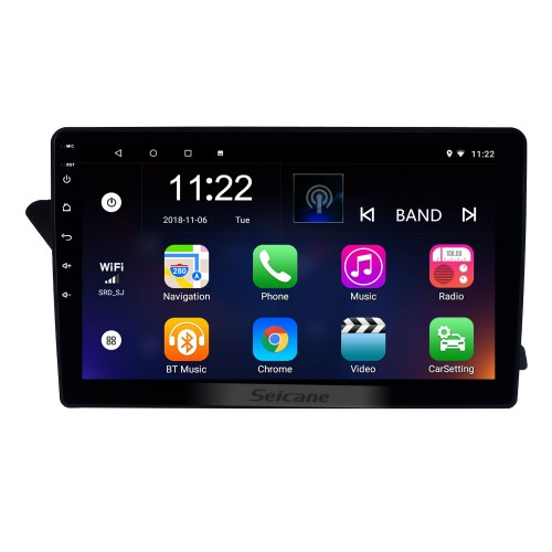 10.1 inch Android 8.1 GPS Navi HD Touchscreen Radio for 2009-2016 Audi A4L with Bluetooth USB WIFI AUX support DVR SWC Carplay 3G Rearview Camera RDS