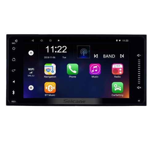 7 inch HD Touchscreen Android 8.1 GPS Navigation Car Radio for TOYOTA COROLLA Camry Land Cruiser HILUX PRADO RAV4 Support 1080P Video Bluetooth Mirror Link WIFI USB SD DVR Rearview Camera