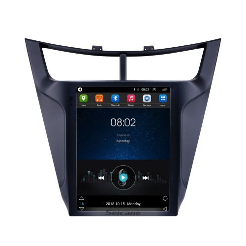 Android 9.1 9.7 inch GPS Navigation Radio for 2015-2018 Chevy Chevrolet New Sail with HD Touchscreen Bluetooth WIFI AUX support Carplay Mirror Link OBD2