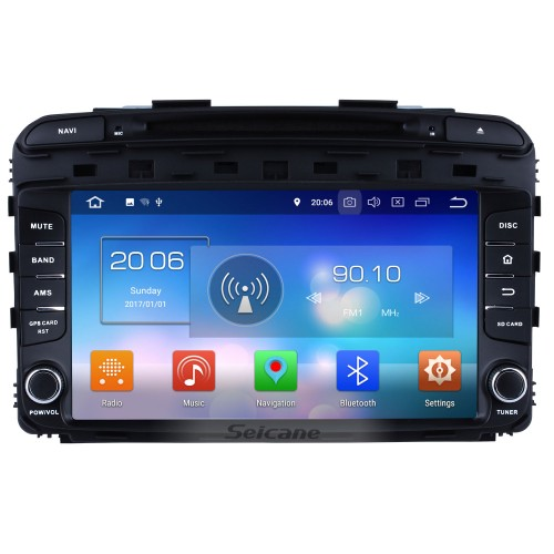 9 inch Touchscreen 2015 2016 KIA SORENTO Android 8.0 Radio DVD Player GPS Navigation System with Bluetooth Music DVR 4G WIFI Mirror Link Backup Camera DAB+ TPMS