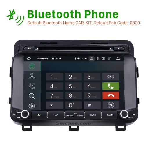 8 inch Android 8.0 in Car DVD Bluetooth GPS System for 2014 2015 Kia Optima K5 with LCD Touch Screen Radio RDS TV Tuner 3G WiFi HD 1080P AUX DVR Backup Camera