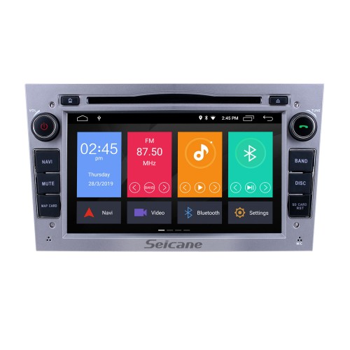 Android 10.0 in Dash GPS Radio Aftermarket Stereo for 2006-2011 Opel Corsa with 3G WiFi CD DVD Player Bluetooth Music Mirror Link OBD2 Backup Camera Steering Wheel Control