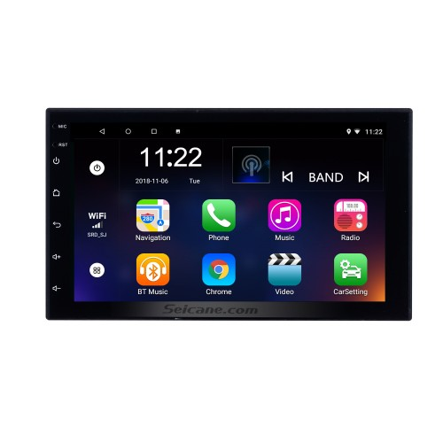 7 inch Android 10.0 2 DIN Touchscreen Radio for Universal Toyota Hyundai Kia Nissan Volkswagen Suzuki Honda GPS Navigation System Bluetooth Music Backup Camera