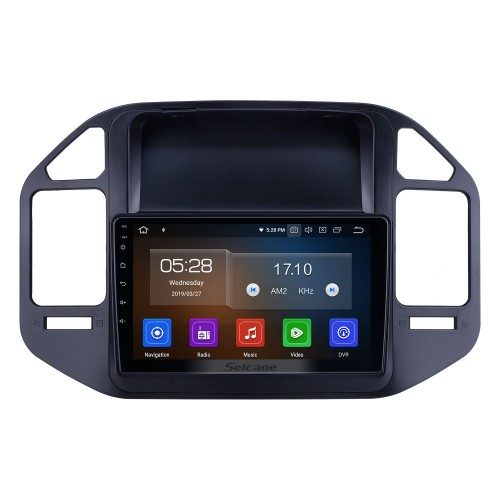 For 2004-2009 2010 2011 Mitsubishi Pajero V73 Radio 9 inch Android 10.0 HD Touchscreen Bluetooth with GPS Navigation System Carplay support 1080P