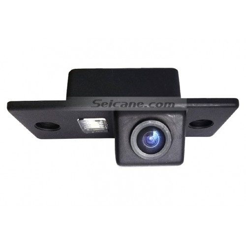 Buy cheap 2008-2013 Skoda sharp Car Rearview Camera with Blue Ruler Night Vision free shipping