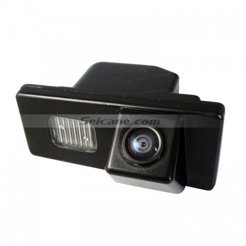 170° HD Waterproof Blue Ruler Night Vision Car Rear View Camera for W5 free shipping