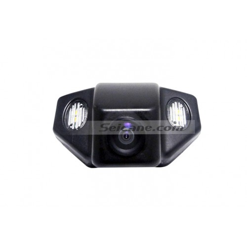 Hot selling 2009-2013 NEW Honda FIT two boxes Car Rear View Camera with four-color ruler and LR logo Night Vision free shipping
