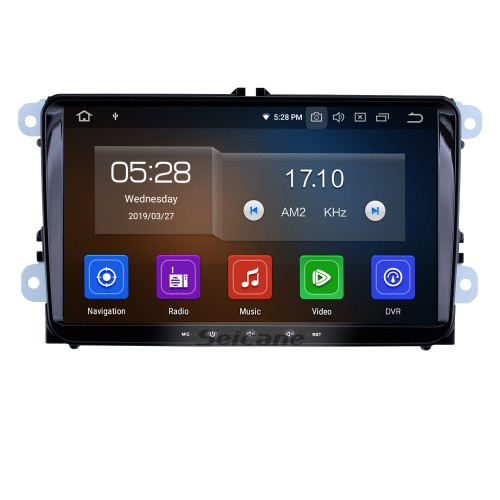 9 inch Android 10.0 In Dash Bluetooth GPS System for 2004-2011 VW Volkswagen Sagitar PASSAT with 3G WiFi Radio RDS Mirror Link OBD2 Rearview Camera AUX