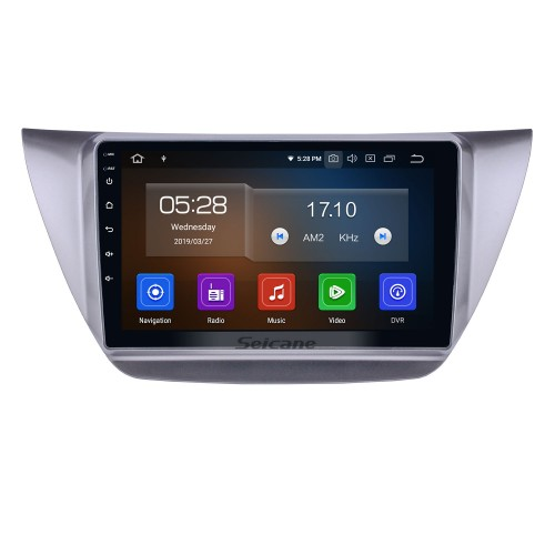 Android 10.0 9 inch 2006-2010 Mitsubishi Lancer IX HD Touchscreen GPS Navigation Radio with Bluetooth USB Carplay WIFI support Mirror Link Rearview camera