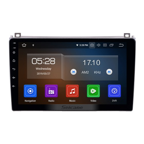 Android 10.0 9 inch GPS Navigation Radio for 2006-2010 Proton GenⅡ with HD Touchscreen Carplay Bluetooth WIFI USB AUX support Mirror Link OBD2 SWC