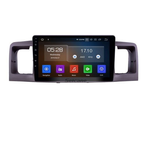 OEM 9 inch Android 10.0 Radio for 2006-2013 Toyota Corolla Bluetooth HD Touchscreen GPS Navigation Carplay support Rear camera
