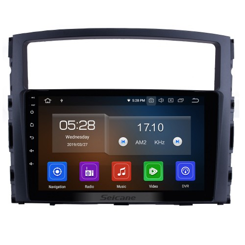 9 Inch 2006-2017 MITSUBISHI PAJERO V97/V93 HD Touchscreen GPS Navigation System Android 10.0 Radio Support Bluetooth OBDII Rear Camera AUX Steering Wheel Control USB 1080P  Mirror Link 3G/4G WiFi TPMS DVR USB