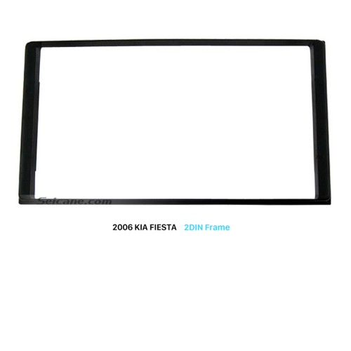 173*98mm Double Din Car Radio Fascia for 2006 KIA FIESTA Stereo Dash CD DVD Panel Audio Frame