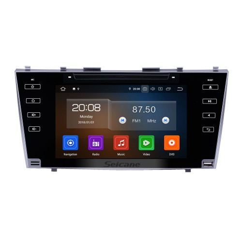 8 inch 2007-2011 Toyota Camry Android 10.0 GPS Navigation Radio Bluetooth HD Touchscreen AUX Carplay Music support 1080P Digital TV Rear camera