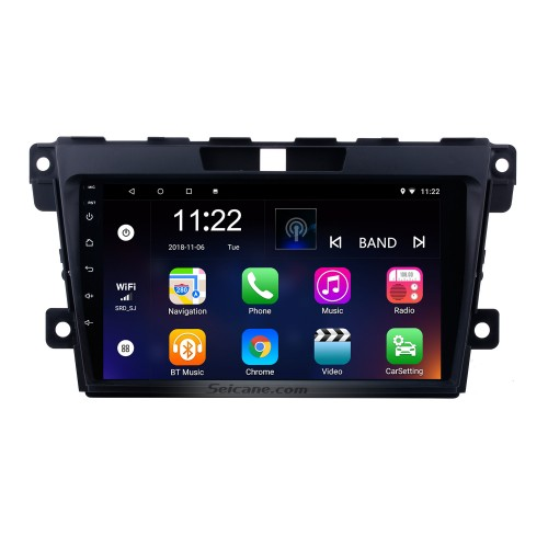 9 inch Android 10.0 2 Din Radio 2007-2014 MAZDA CX-7 GPS Navigation Bluetooth with USB SD 1080P Video Audio system Aux