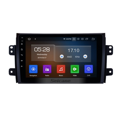 Android 10.0 HD Touch Screen Car Radio stereo for 2007-2015 Suzuki SX4 GPS Navigation system Bluetooth DVD Player Music USB WIFI DVR OBD2 1080P Mirror Link