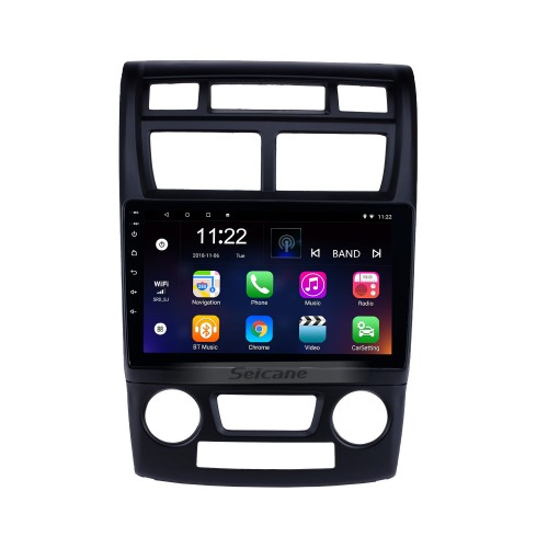 2007-2017 KIA Sportage Auto A/C Android 10.0 Bluetooth Radio GPS Navi system auto stereo with WIFI AUX FM USB support DVR Backup Camera TPMS OBD2 3G
