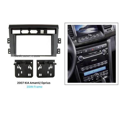 Stunning Double Din 2007 KIA Amanti Oprius Car Radio Fascia Dash Mount Trim Panel Kit Audio Frame