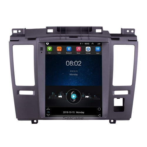 2008-2011 Nissan Tiida LHD 9.7 inch Android 9.1 GPS Navigation Radio with Touchscreen Bluetooth USB WIFI support Carplay Rear camera