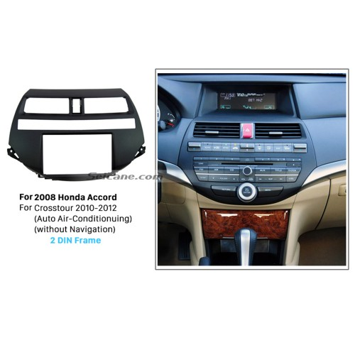Durable Plastic Double Din 2008 Honda Accord Car Radio Fascia Stereo Install frame DVD Player In Dash Mount Kit