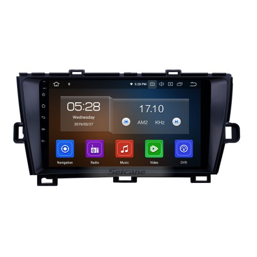 Android 10.0 9 inch GPS Navigation Radio for 2009-2013 Toyota Prius RHD with HD Touchscreen Carplay Bluetooth support Digital TV