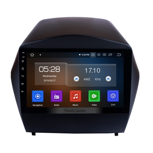9 Inch Android 10.0 Touch Screen radio Bluetooth GPS Navigation system For 2010-2017 HYUNDAI IX35 TPMS DVR OBD II USB WiFi Rear camera Steering Wheel Control HD 1080P Video AUX