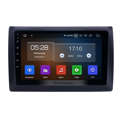 9 inch Android 10.0 Radio for 2010 Fiat Stilo Bluetooth WIFI USB HD Touchscreen GPS Navigation Carplay support OBD2 TPMS DAB+ DVR