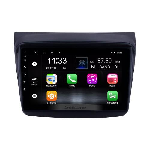 HD Touchscreen 9 inch Android 10.0 GPS Navigation Radio for 2010 MITSUBISHI PAJERO Sport/L200/2006+ Triton/2008+ PAJERO Sport2 Montero Sport/2010+ Pajero Dakar/2008+ Challenger with USB Bluetooth support Carplay SWC