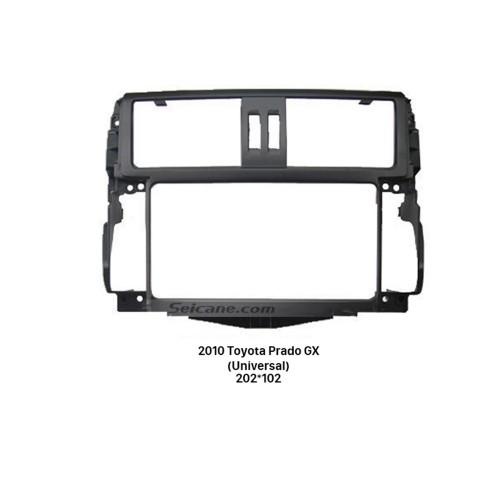 Universal Double Din 2010 Toyota Prado GX Car Radio Fascia Stereo Dash CD Audio Player Panel Frame