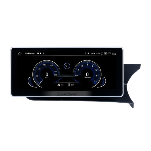 10.25 inch Andriod 10.0 HD Touchsreen 2011-2014 Mercedes Benz C Class Right-hand Driving  W204 S204  C180 C200 C220 C250 C260 C280 C300 C350 C400 C450 C43AMG C63AMG GPS Navigation System with Bluetooth support Carplay