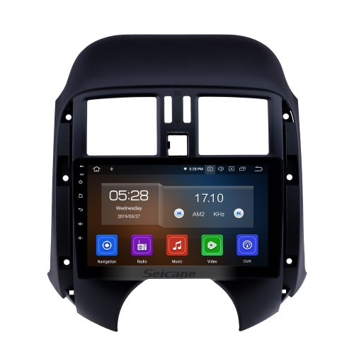 OEM Android 10.0 9 inch Radio for 2011 2012 2013 Nissan Old SUNNY with HD Touchscreen Bluetooth GPS Navi Carplay USB 4G WIFI AUX RDS