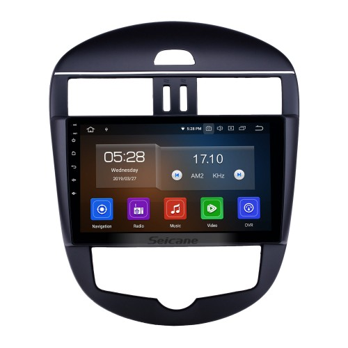 10.1 inch Android 10.0 Radio for 2011-2014 Nissan Tiida Auto A/C Bluetooth HD Touchscreen GPS Navigation Carplay USB support TPMS DAB+ DVR